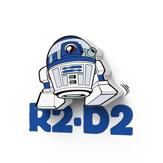 3D Light FX - Star Wars EP7 Mini Series R2-D2 - 3D立體迷你燈 星際大戰EP7系列 R2/D2