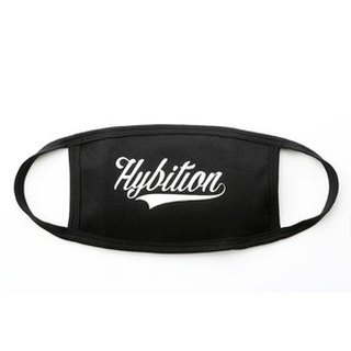 韓國 Hybition Message Mask [ Hybition ] Black 黑色文字口罩