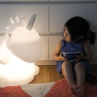 SMOKO GIANT UNICORN LAMP giant unicorn table lamp
