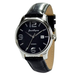 Minimalist Automatic Mechanical Watch Big Numbers - Free shipping