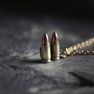 Bullets Charm Necklace by Defy - Pendant Jewelry Accessories