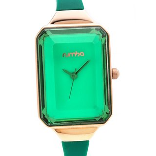 {Rumba Time} in New York fashionable watch brand Union Gem - Emerald Gold