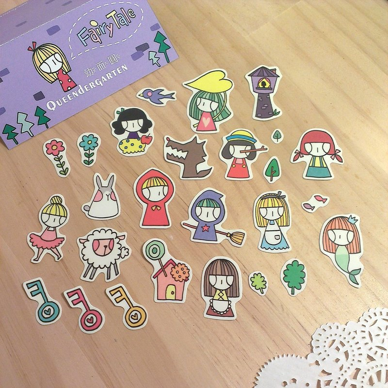 Fairy tale / sticker