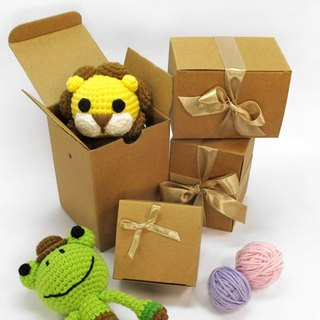 Paper gift box (large, medium) - for key rings, key cases, rattle, mouth gold package