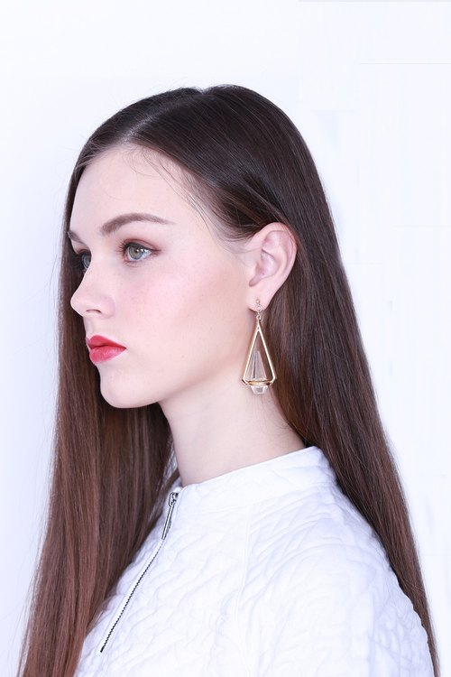ZIZTAR Crystal Light earrings