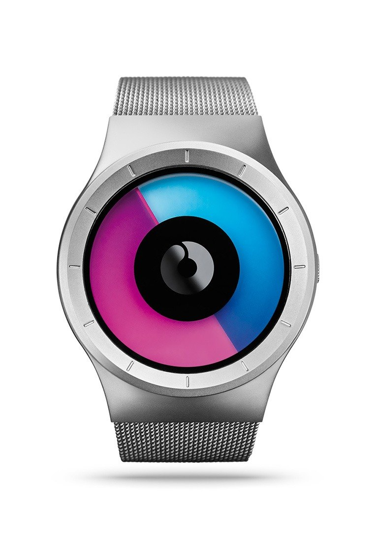 Cosmic sky watches CELESTE (silver / purple, Chrome / Purple)