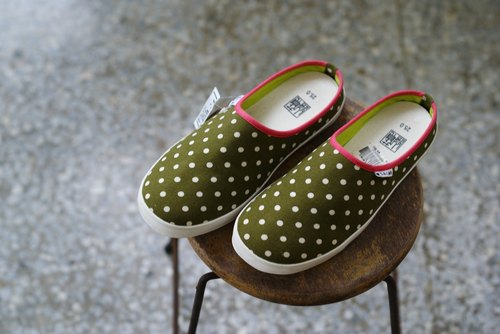 [Jul little surprise: Fate の boots] Limited Lazy Day / No clearing shoes / / Matcha forest cloth 25 / only one pair