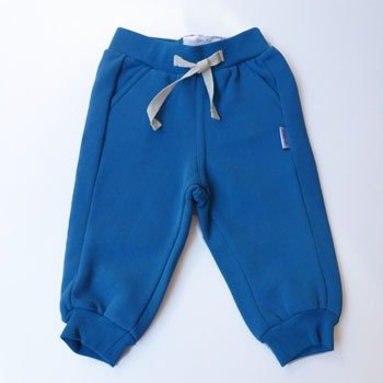 andywawa cotton casual sports trousers bristles (blue)