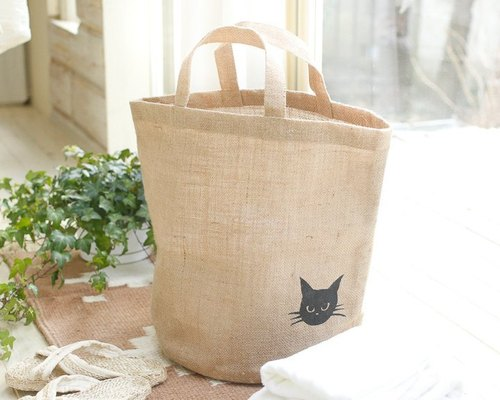 "Earth tree fairtrade- ""sack Series"" - kitty portable storage sacks"
