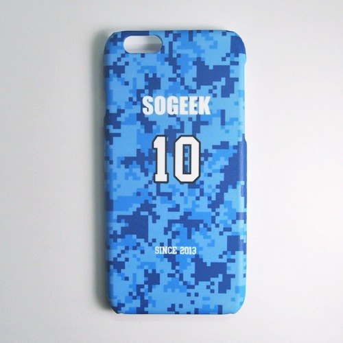 SO GEEK phone shell design brand THE JERSEY GEEK jersey back number Customized paragraph 039