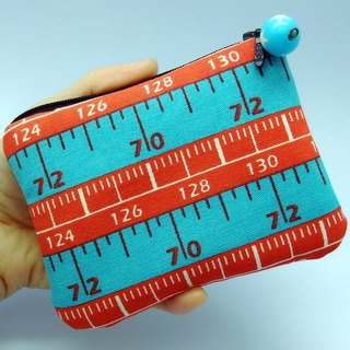 Zipper pouch / coin purse (padded) (ZS-7)