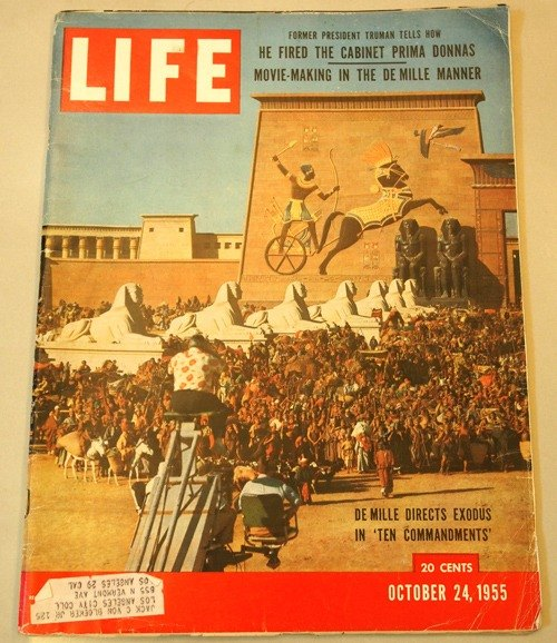 1955 10.24 LIFE magazine mysterious old empire Ejido
