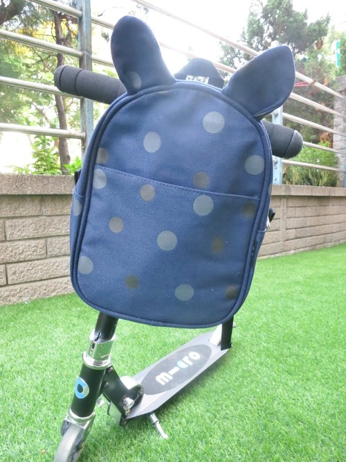 TiDi Blue Bunny ears little backpack color