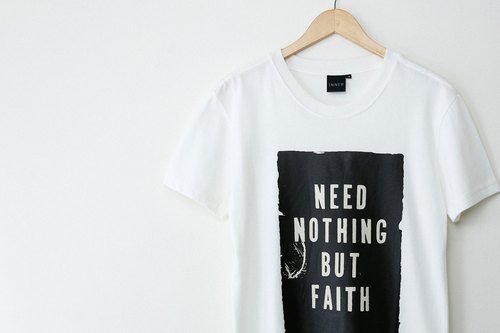 INNER | faith T-Shirt - milky