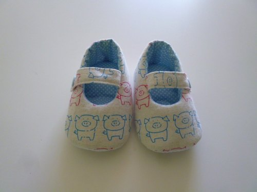 Pig baby shoes baby shoes births gift