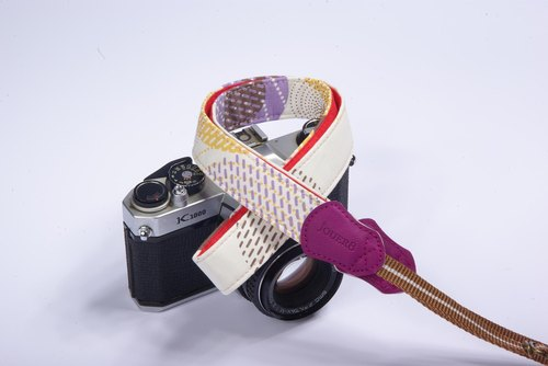 Color circle Shuya camera strap 2.5