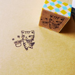 Stamp - magic cat PDA chapter