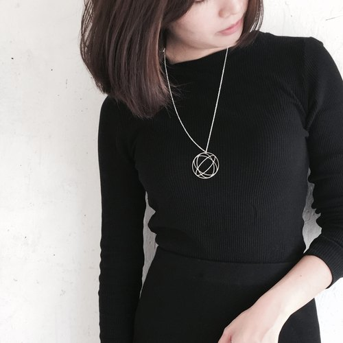 ∎ Sphere Illusion necklace ∎ Illusion collection ∎