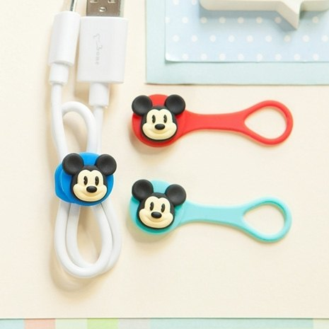 Bone / Mickey Q Cord Ties Chest Q Cord - Mickey
