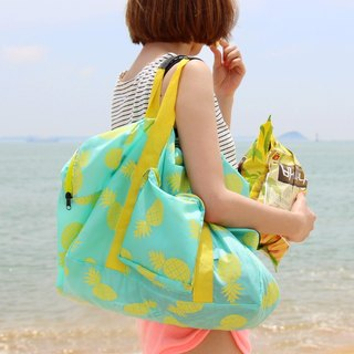 U-PICK original product life original design lightweight portable folding bag admission package pineapple / peach heart