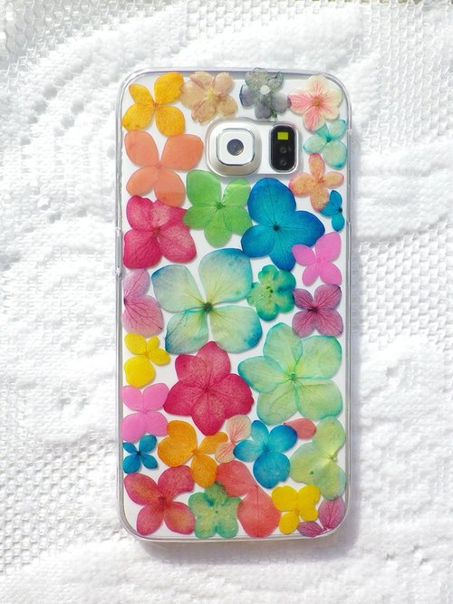 Anny's workshop hand-made Yahua phone protective shell for Samsung Galaxy S6 Edge, colorful series