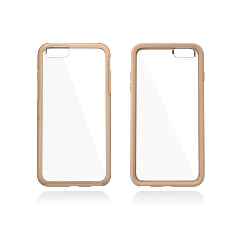 My Symmetry Series Exclusive My Colorful geometric series iPhone 6s Plus (transparent style section) gold