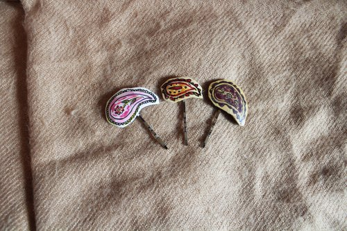 [Moses's warehouse] amoeba colorful hairpins into three groups