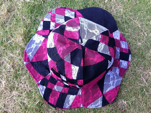 [Qucky] Alice in Wonderland / stiffness umbrella flowers cap