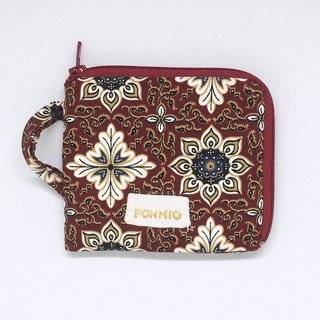 Totem brick red purse
