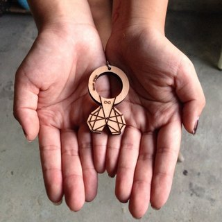 11 / 22-12 / 15 (a total price of two) ► Christmas Early Bird Offer ◄ geometric love ring key ring