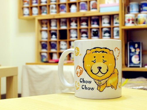 """NONCOOL‧ Cool farming"" Chow. Mug / straight cup (300ml)"