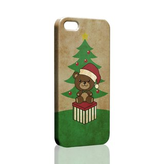Christmas Bear Pattern custom Samsung S5 S6 S7 note4 note5 iPhone 5 5s 6 6s 6 plus 7 7 plus ASUS HTC m9 Sony LG g4 g5 v10 phone shell mobile phone sets phone shell phonecase