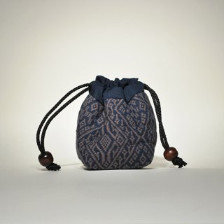 Diamond pattern storage bag