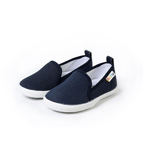 """Baby Day"" Parental simple comfort casual shoes blue shoes paternity shoes"