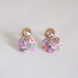 "clip on earrings""bijoux & marble"""
