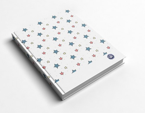☆ ° Rococo Strawberries WELKIN Hand-held Handbook / Notebook / Hand / Diary - Hand-painted Star