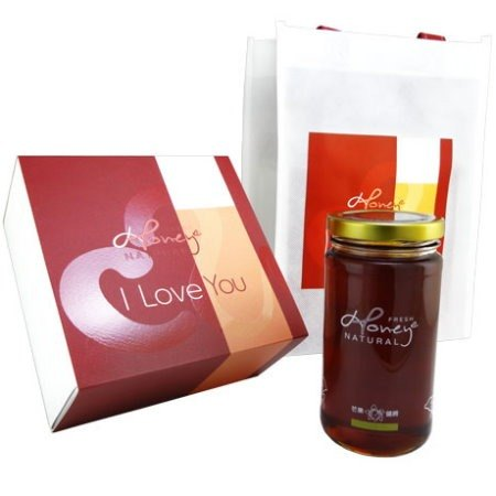 "< Chun honey bee cherished gift 1pc > mango flower imports 100% pure natural honey ~ I Love You Honey ~ source won the famous international inspection group Bureau Veritas of France's ""natural pure honey HACCP certification."""