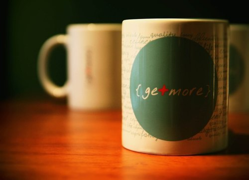 getmore mug design good life subsection (round cup)