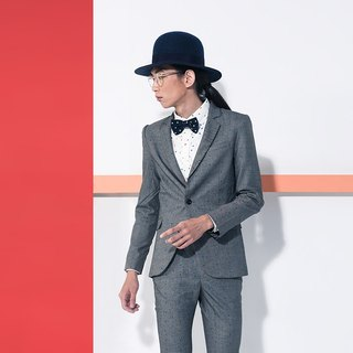 Machismo - Dotted Blazer / Gray