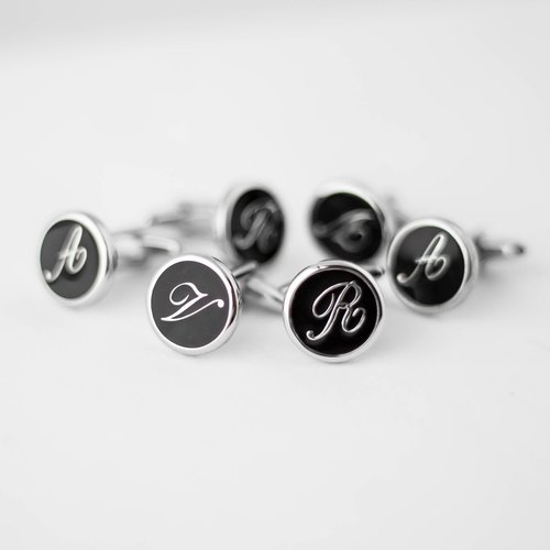 Exclusive order - English letter cufflinks