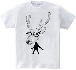 Comical deer(5.6oz)