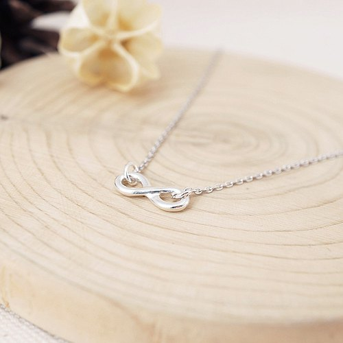[Cami Handicraft] Infinity Sterling Silver Necklace