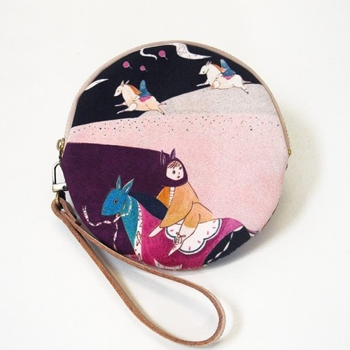 A walk [horse] phone bag / hand bag / clutch. Free shipping.