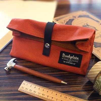 ultrahard Bookplate Bookplate pouch series (hardcover orange) sold out [out of print]