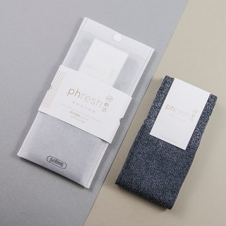 Light Ether - 焓 warm light casual socks - manganese ash