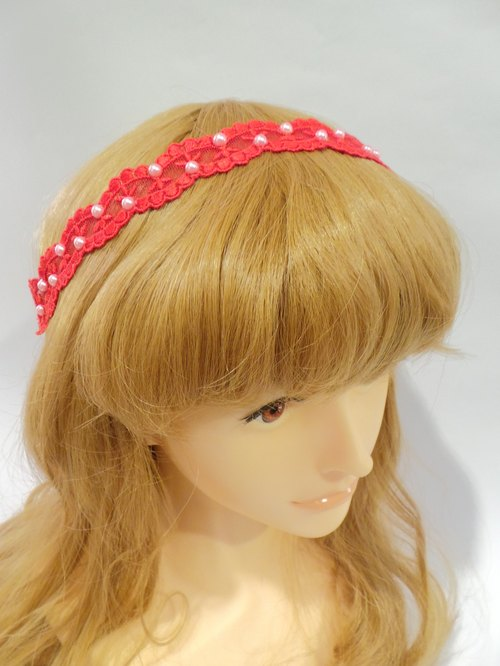 Sweet flower hair band children - value offers 3