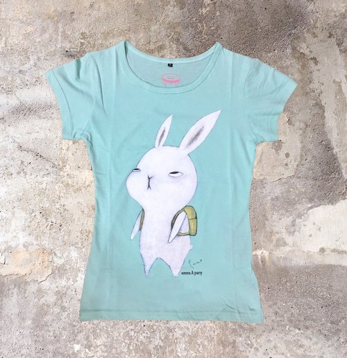 EmmaAparty Illustration T: Do not want to work Rabbit