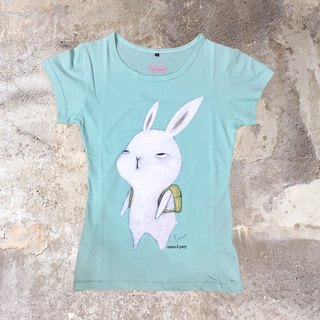 emmaAparty illustration T- do not want to work rabbit