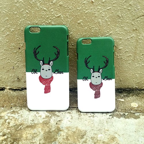'Oh my Deer' phone case  Why Not Both 原創電話殼