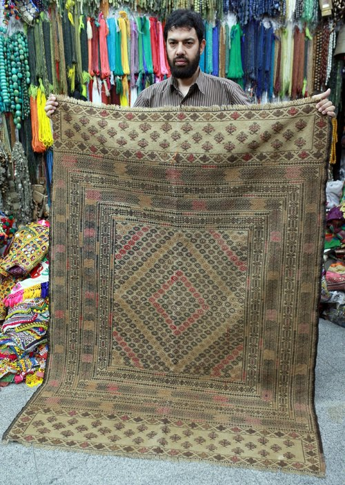 Soon ▲ △ ▲ △ ▲ ▲ △ ▲ △ ▲ OMAKE manual Afghan Kilim carpet square 02